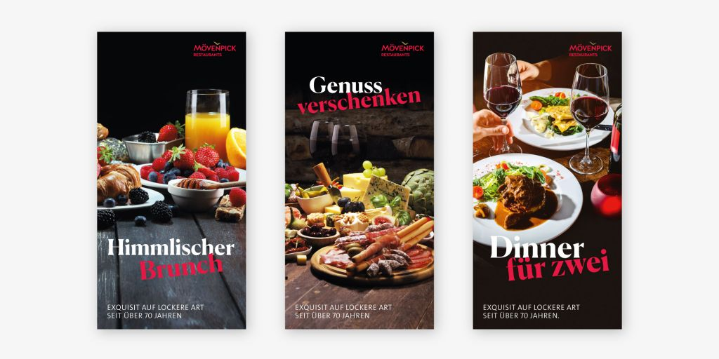 Mövenpick Redesign Restaurant Flyer