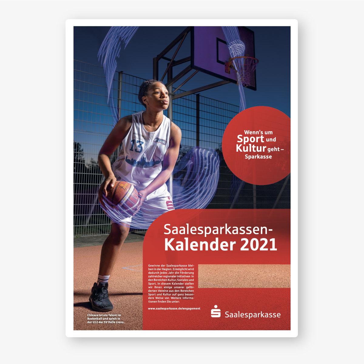 Saalesparkasse Kalender 2021: Titel