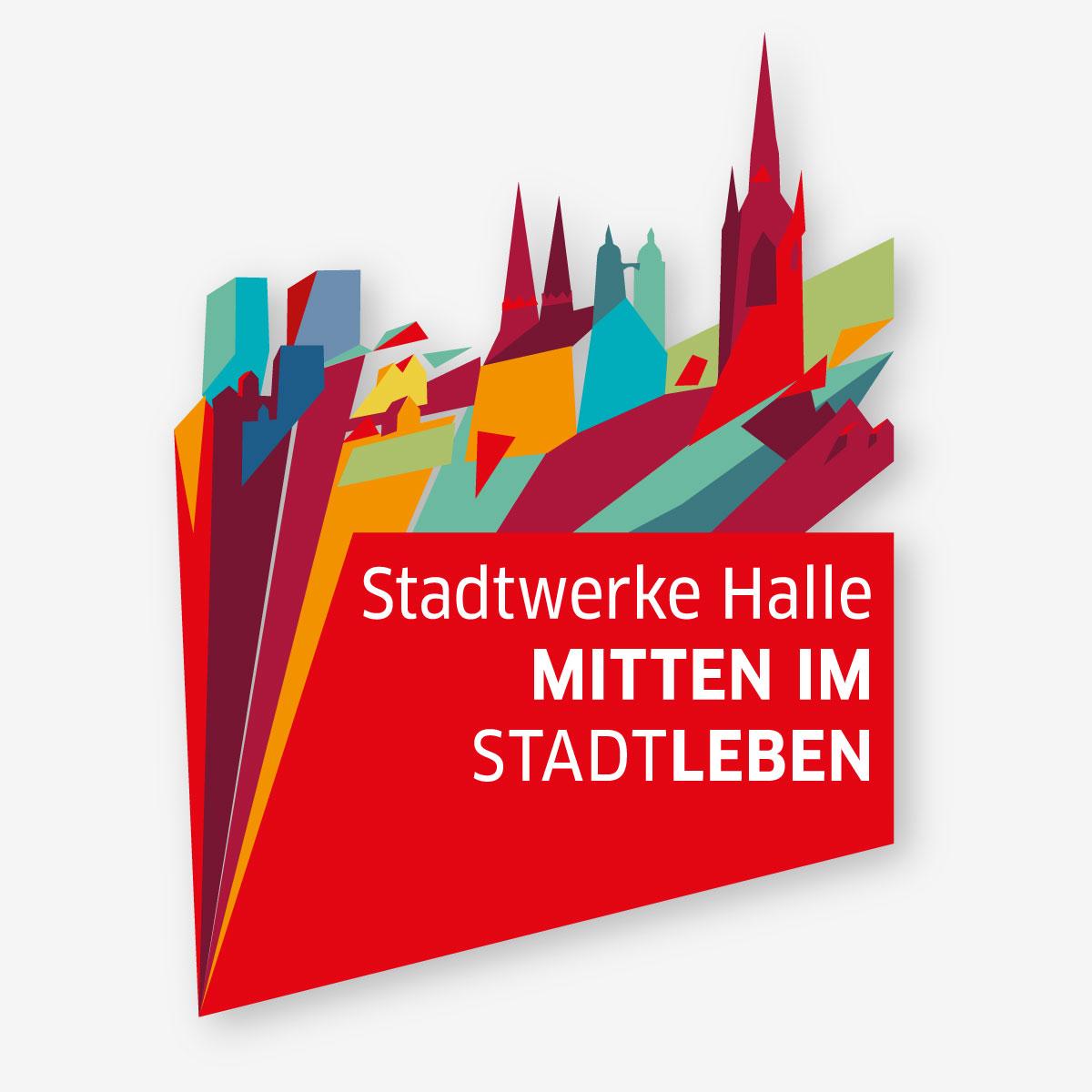 Corporate Design Relaunch der Stadtwerke Halle. Imagemotiv