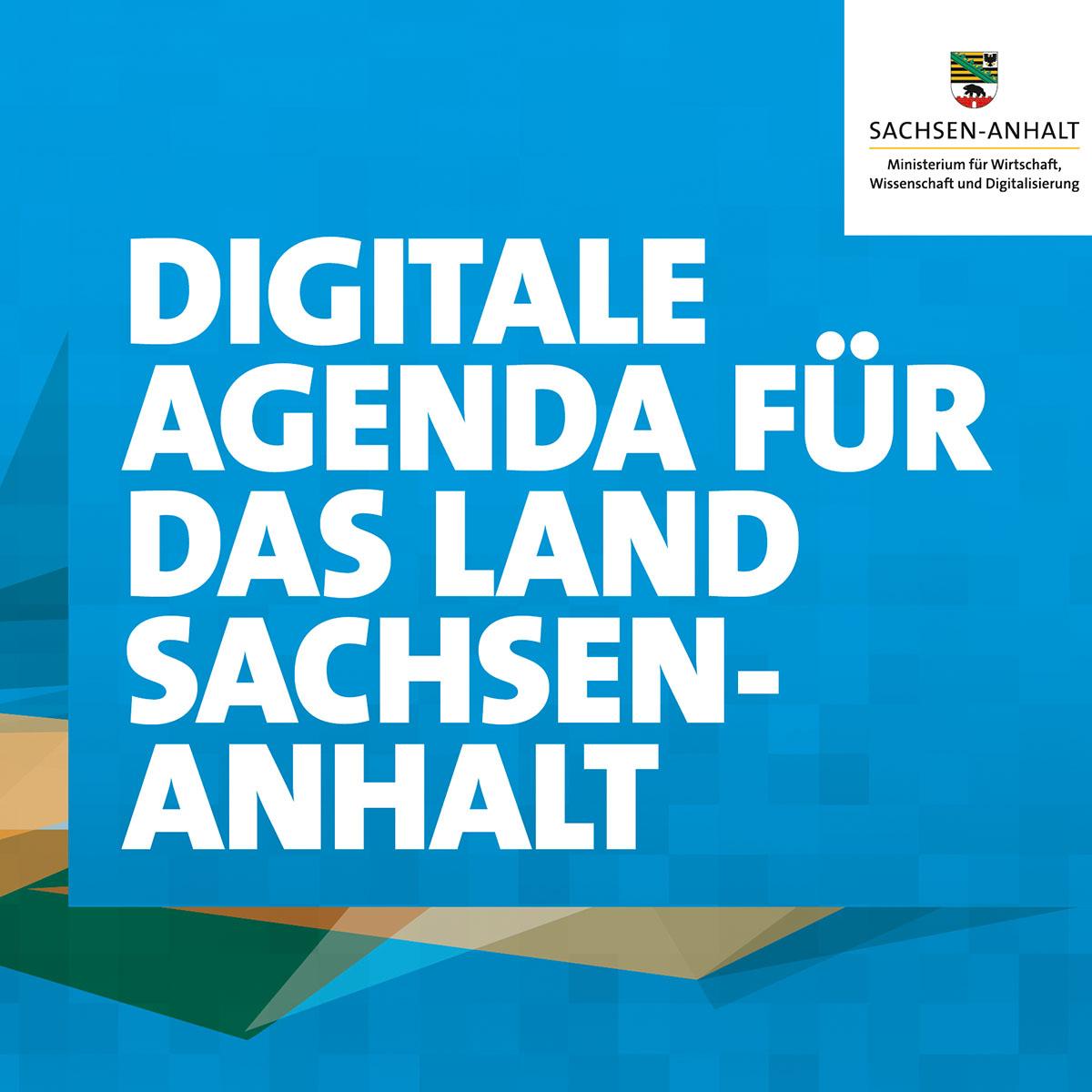 Keyvisual für die Digitale Agenda für das Land Sachsen-Anhalt