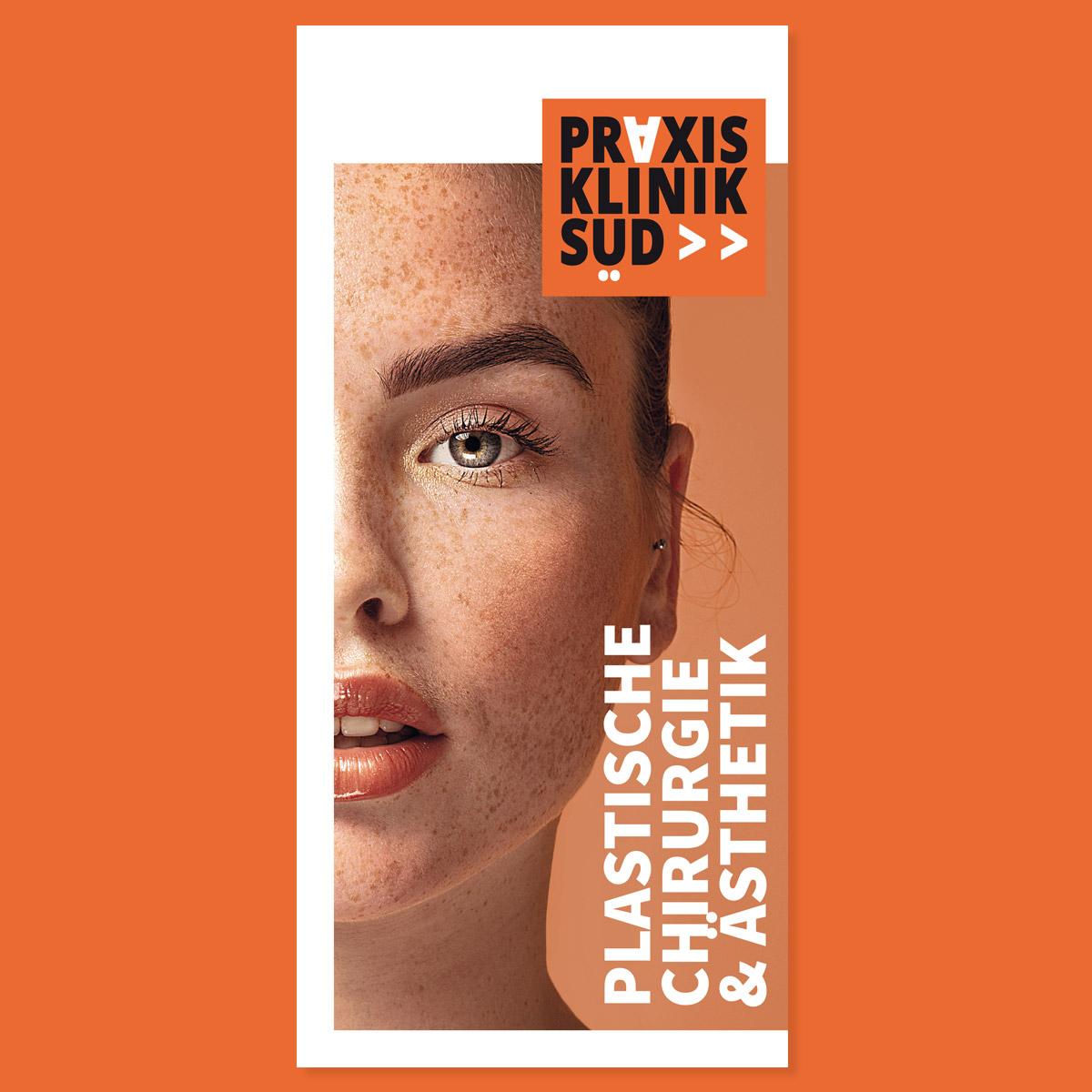Praxisklinik Süd: Flyer: Plastische und Ästhetische Chirurgie: Titel