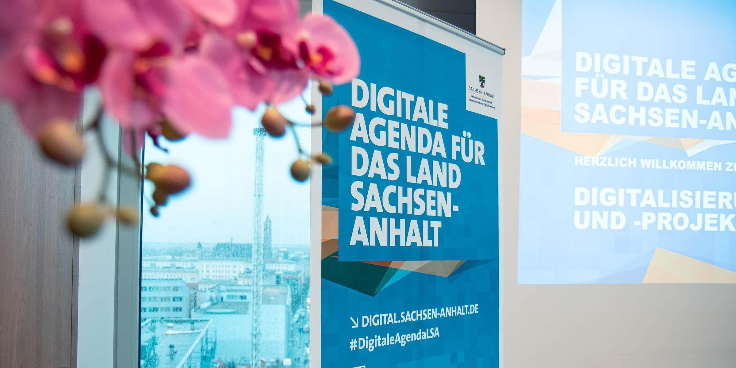 Roll-Up für die Digitale Agenda für das Land Sachsen-Anhalt