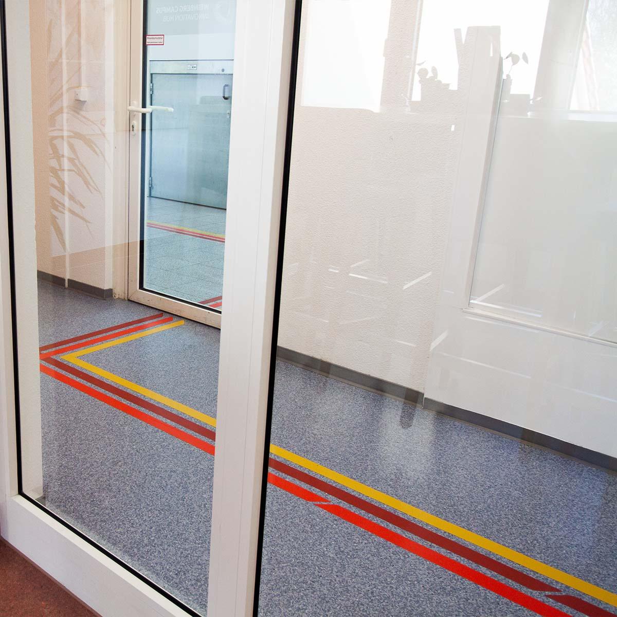 Ein Weg durch das erste Obergeschoss im Weinberg Campus Innovation Hub