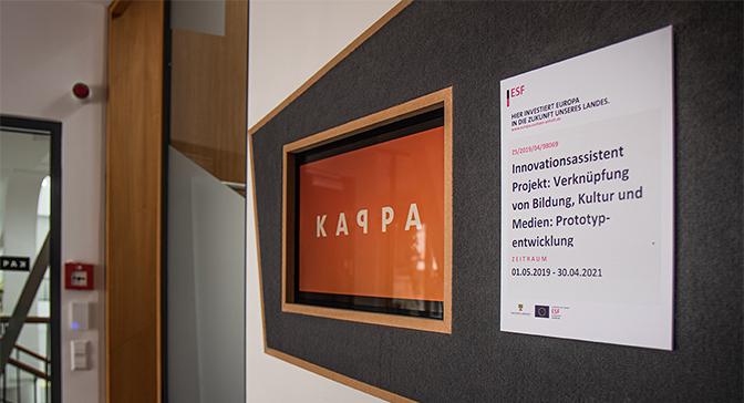 """Förderbescheid """"Innovationsassistent: Verküpfung von Bildung, Kultur und Medien: Prototyp-entwicklung"""""""