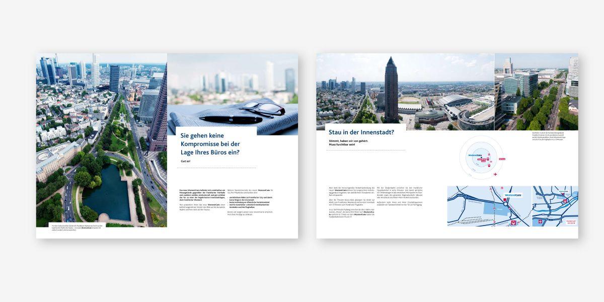 Abeerdeen: Vermarktungsbroschüre für Immobilie WestendGate – Innenseiten
