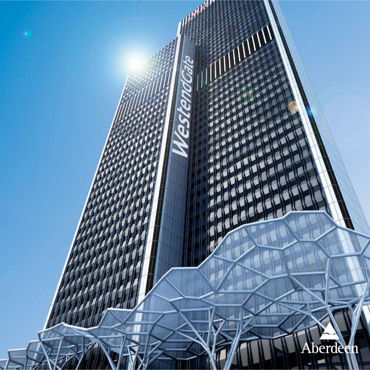 Aberdeen: WestendGate in Frankfurt am Main – Foto des Gebäudes