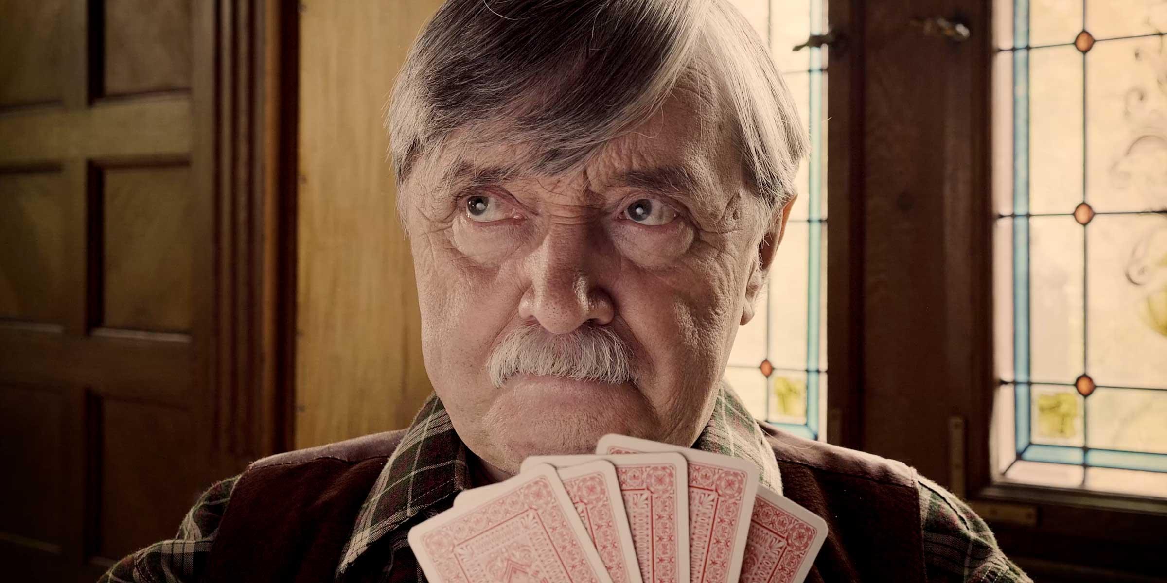 Imagefilm für die Paul-Riebeck-Stiftung: humorvoller Western-Spot mit dem bekannten Schauspieler Reinhard Straube